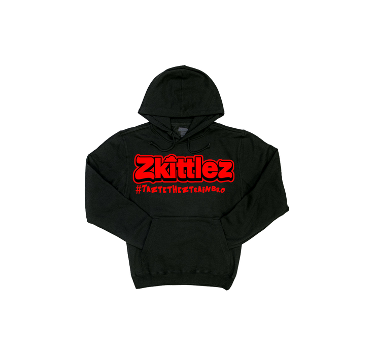 Official Zkittlez - Taste The Z Train Red Hoodie