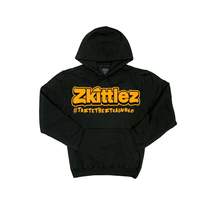 Official Zkittlez - Taste The Z Train Orange Hoodie