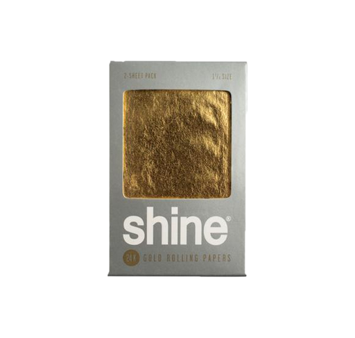 Shine® 24K - Gold Rolling Papers 2er Pack