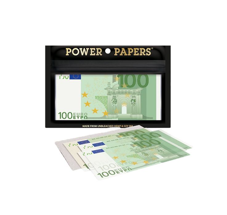 Power Papers - 100€ Rolling Papers