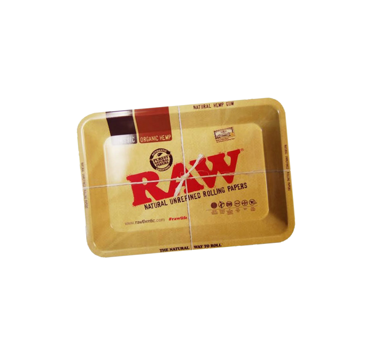 "RAW Metal Rolling Tray ""mini"" 18cm x 12.5cm"