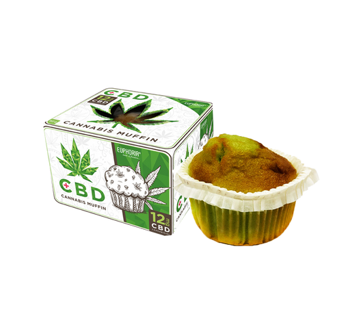 MARY & JUANA Cannabis Muffin mit CBD
