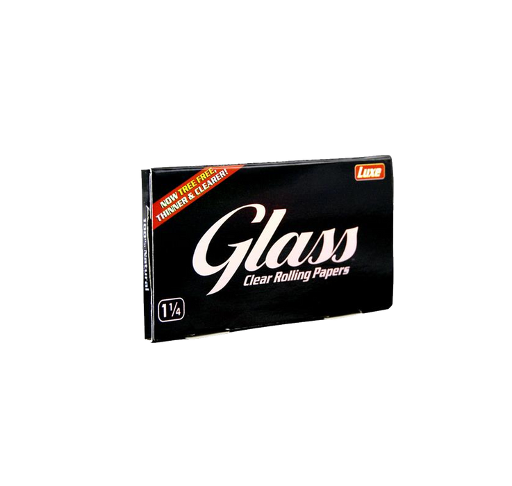 Luxe -  GLASS Cellulose Papers 1/4 Size