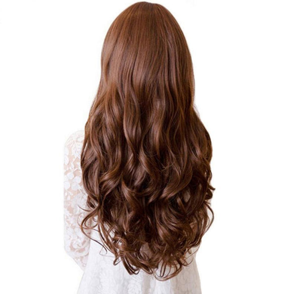 Long Curly Synthetic Hair Clip