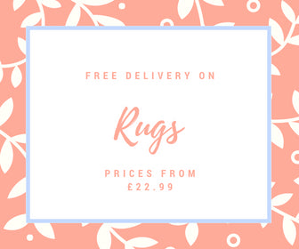 free delivery on all rugs