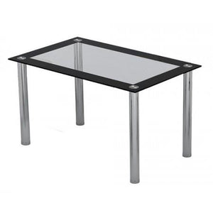 Four Seat Dining Table Glass Top