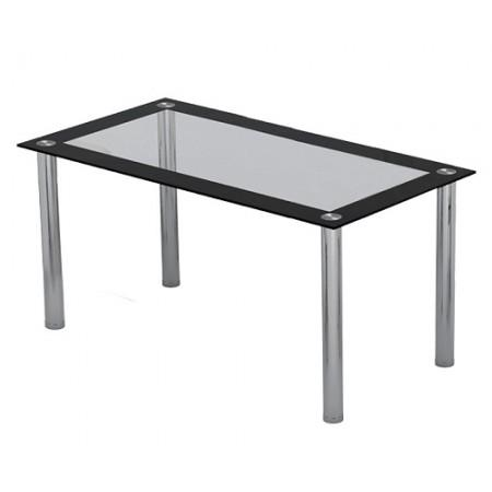 Six Seat Dining Table Glass Top