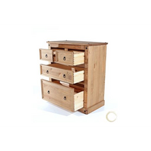 Corona Wooden 2 + 2 Drawer Cabinet