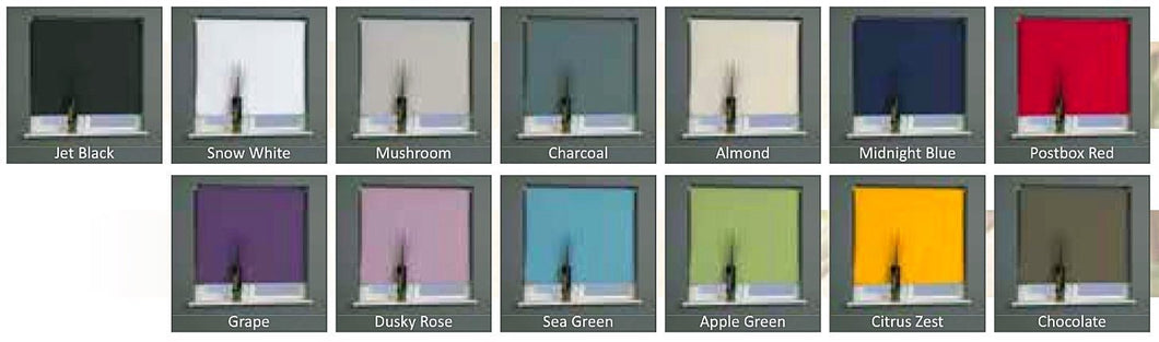 Universal Roller Blinds Daylight/Blackout Versions