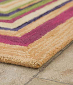 Square Spiral Loop Weave Rugs Five Colours Three Sizes