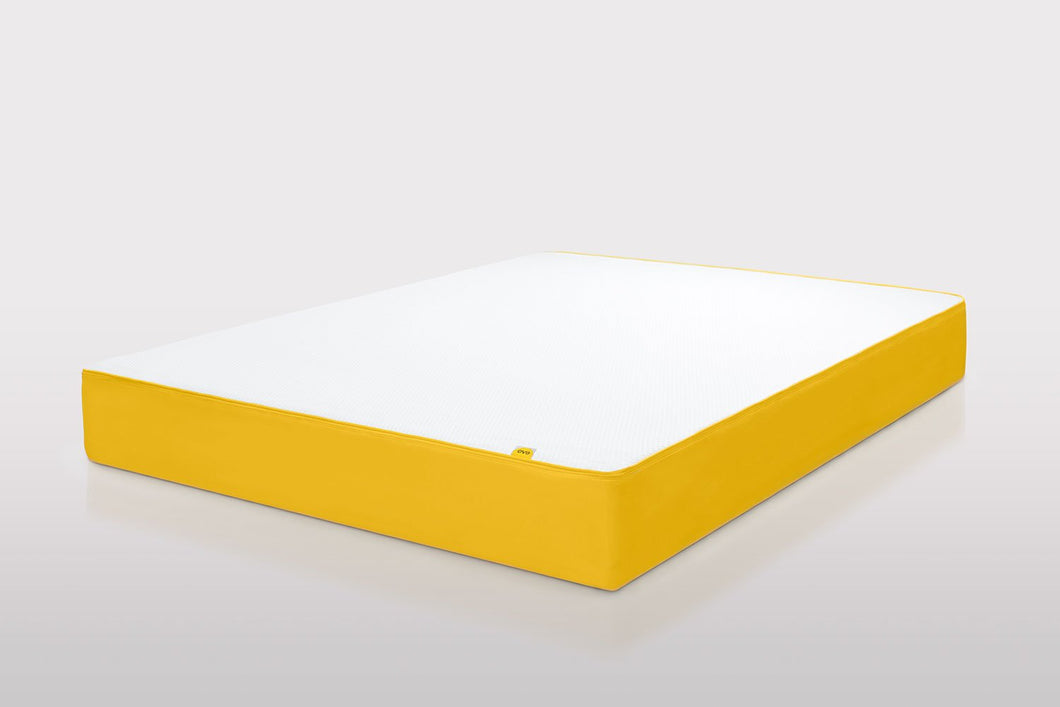 eve memory foam mattress angled
