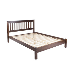 boston double wooden bed