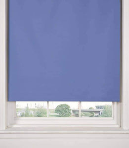 Blue Blackout Roller Blind