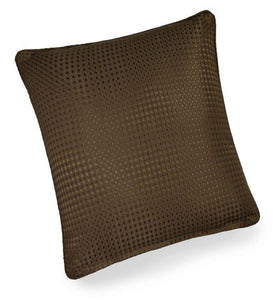 textured cushion collection brown