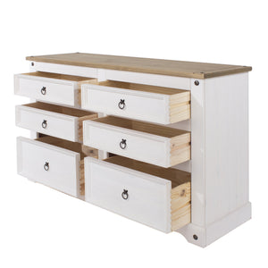 white chest of drawers dovetail