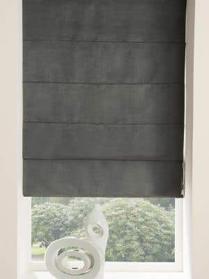 ready made roman blind grey