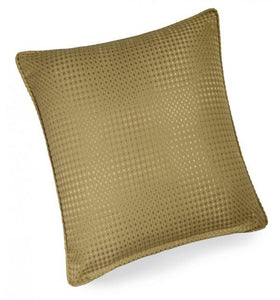 textured cushion collection gold