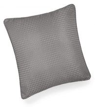 textured cushion collection grey