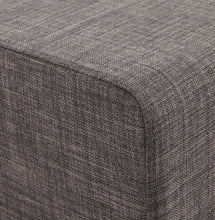 anthracite cube stool fabric