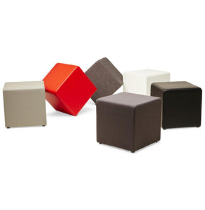 kokoon cube shaped stool seat or foot rest