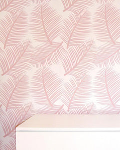 the room alive blush modern wallpaper