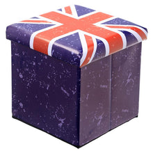 Padded Stool & Storage Box (foldable)