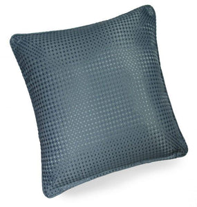 textured cushion collection sea blue