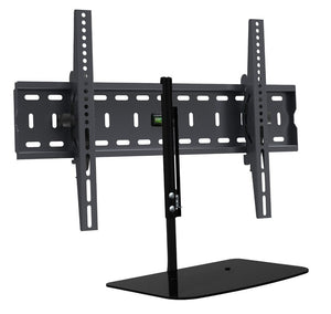 TV Wall Bracket with Floating Shelf
