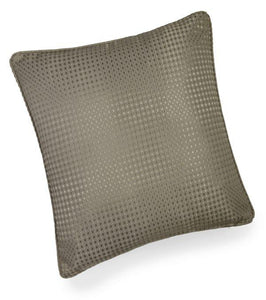 textured cushion collection taupe