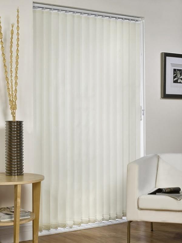 mb vertical blind in cream