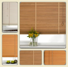 Wooden 35 mm Venetian Blinds nine widths three colours