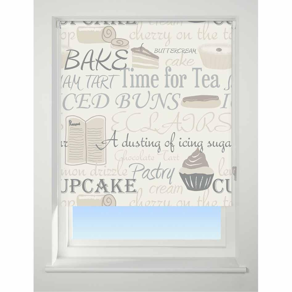 Universal Patterned Roller Blind Bake Off