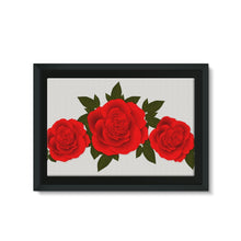Rose Framed Canvas
