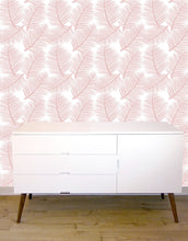 the room alive blush wallpaper with white unit
