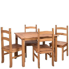 corona dining set four seats