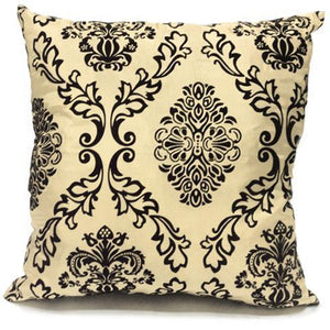 cream flock cushion