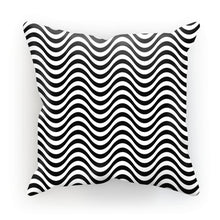 Black Wave Cushion