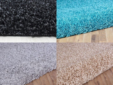 thick shaggy eco rugs