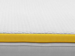 eve memory foam mattress topper close up