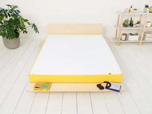 eve light mattress on bed