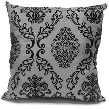 grey flock cushion