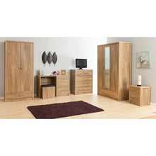 holland bedroom set in oak