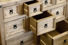 Nine Drawer Wooden Chest Of Drawers