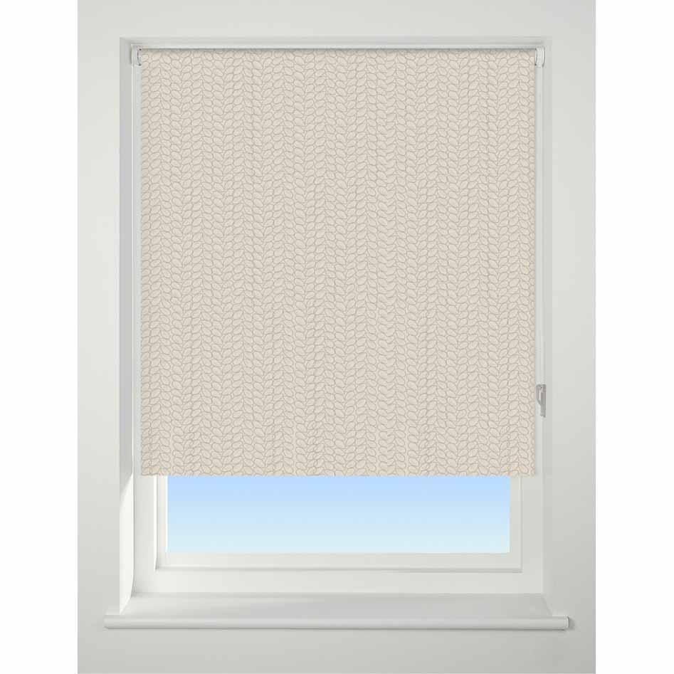 Patterned Roller Blind Knitted Texture