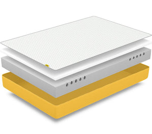eve light mattress layers