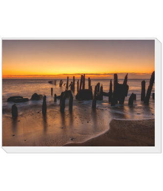 Landscape Canvas Spurn Point