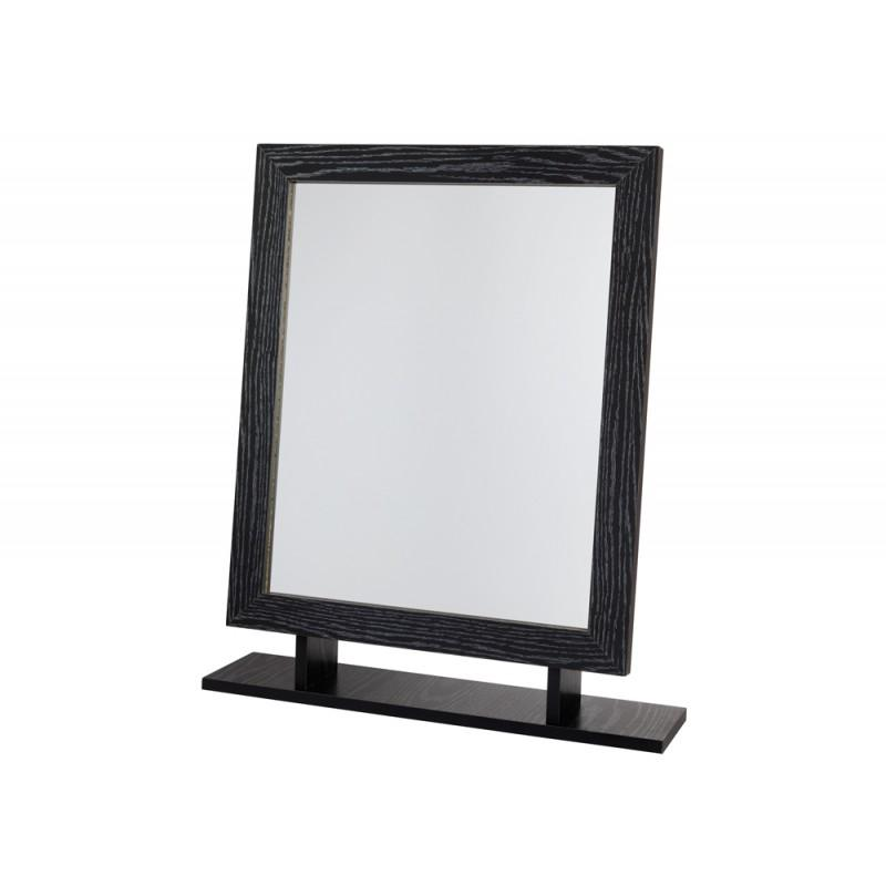 marina dressing table mirror in black