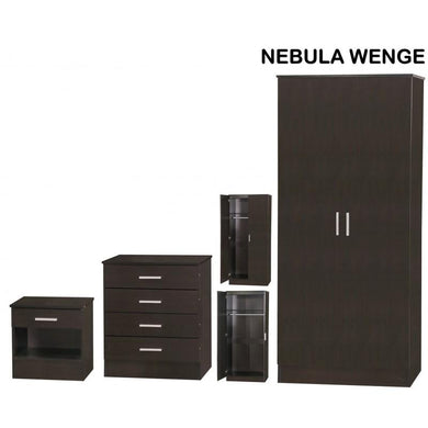 nebula wenge bedroom set