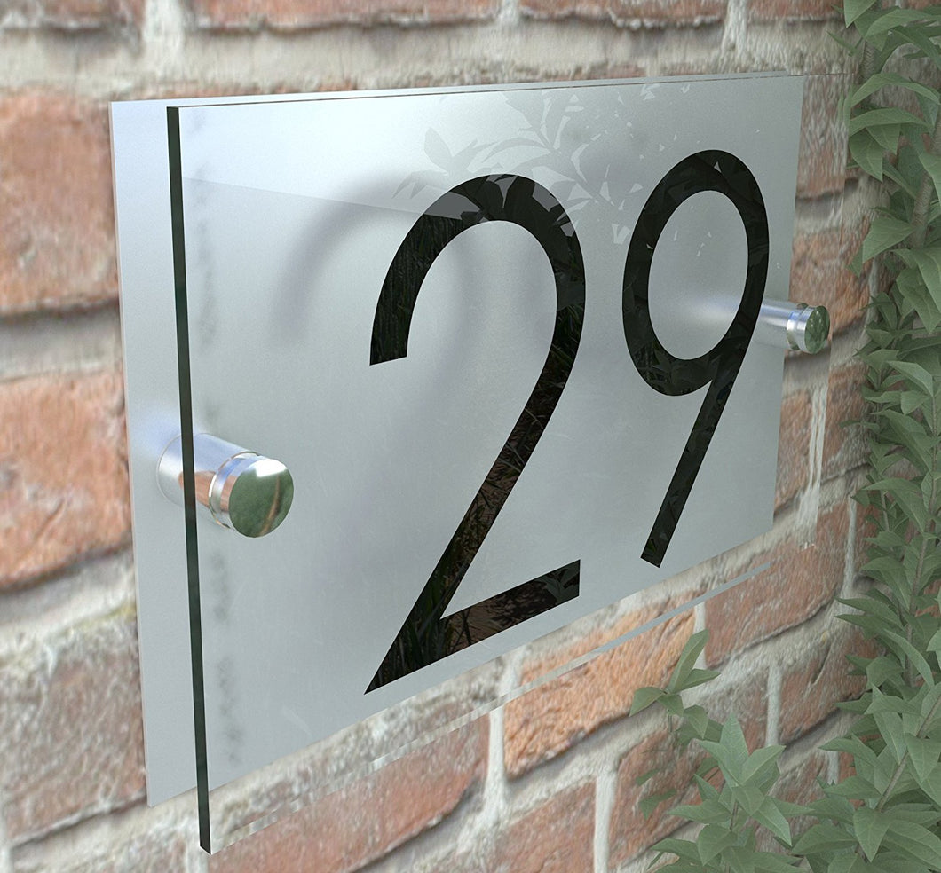 Door Number Plaque