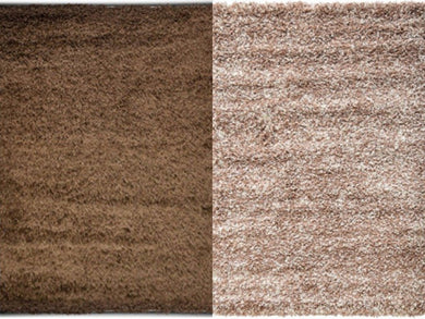 soft shaggy rugs two colours
